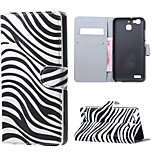 Zebra Stripes Magnetic PU Leather wallet Flip Stand Case cover for Huawei Ascend P9
