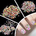 1000 Pieces/Bag 3D DIY Fimo Tanah Liat Nail Art