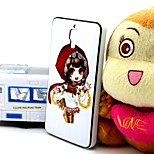 2-in-1 Little Red Riding Hood Pattern TPU Back Cover with PC Bumper Shockproof Soft Case for Xiao Mi 4 MI4