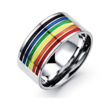 Party / Casual Titanium Steel Ring