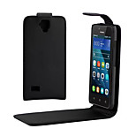 PU Leather Up Down Flip Mobile Skin Case Cover For Huawei Y560