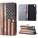 Retro American Flag PU Magnetic Leather wallet Flip Stand Case cover for Huawei Honor 4A / Y6