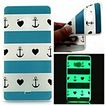 Article Blue Heart Luminous Dream Catcher Pattern Sofe TPU Case for Lumia 540
