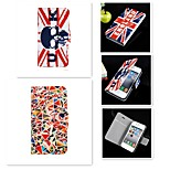 The Skeleton Pattern PU Leather Full Body Case for iPhone5/5S