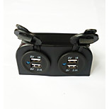 lossmann  2 Hole Tent Double USB Car Charger  High Quality