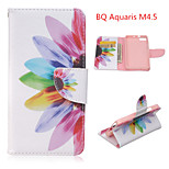 The Tree of Life Pattern Fashion PU Leather Case with Stand and Card Holder for BQ Aquaris M4.5(Assorted Colors)