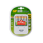 GP 1300mAh  AA Household Batteries 4pcs