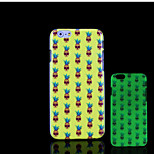 ananas patroon glow in the dark hard plastic achterkant voor de iPhone 6 voor iPhone 6s case