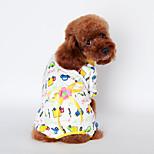 Hunde - Frühling/Herbst - Fasergemisch / Baumwolle / Kord -Cosplay / Urlaub / Neujahr / Schottenmuster / Gestreift / warm halten /