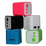 mini haut-parleur de carte de mp3 portable (couleur assortie)