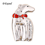 D Exceed Cute Polar Bear Brooch For Girls Chic Pin Brooch For Christmas Winter New Arrival