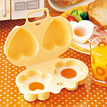 Creative Kitchen Tools Microwave Mixer Egg Steamer Home Baking Mould