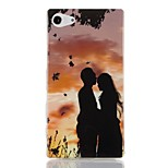 New Fashion 3D Sunset lovers Case TPU Back Cover for Sony Xperia Z3 Mini