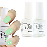 LIBEINE 1set(Color 011 + Base Coat+ Top Coat) 3PCs Soak Off 15 ML UV Gel Nail Polish Color Gel Polish