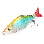 Mizugiwa Jointed Life-like Swimbait Hard Fishing Bass Bait Suspend Lure 21g 120mm Color  Clear