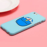 iFashion® Candy Color Blue Pocket Cartoon Cat Pattern Soft Case for iPhone 6/6s