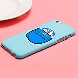 ifashion® snoep kleur blauw pocket cartoon kat patroon zachte hoes voor de iPhone 6 / 6s