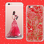 MAYCARI®Christmas Day Soft Transparent TPU Back Case for iPhone5/iPhone 5S(Assorted Colors)