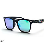 Unisex 's Anti-Reflective / Polarized Oval Sunglasses