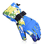 2016 Men Winter Snowboard Waterproof Gloves Women -30 Degree Warm Riding Gloves Skiing And Snowboarding Gloves 907