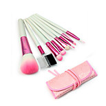Professinal 8 Pcs Pink Women's Makeup Brush Set Cosmetic Brushes for Face And Eye Shadow Lady's Gift
