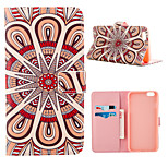 Geometric Pattern Full Body Case With Card Slot for iPhone 6 Plus/6S Plus