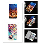 Windbell Balloon Pattern PU Leather Full Body Case for iPhone 4/4S