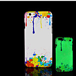 Beautiful Pattern Glow in the Dark Hard Plastic Back Cover for iPhone 6 for iPhone 6s Case
