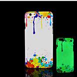 schönes Muster im Dunkeln leuchten Hartplastikhülle für iPhone 6 für iphone 6s Fall