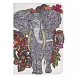 Elephant Pattern Standoff Protective Case for iPad Mini 4