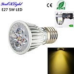 1 Stück YouOKLight Dekorativ Spot Lampen A50 E26/E27 5 W 450 LM 3000 K 5 High Power LED Warmes Weiß AC 220-240 / AC 110-130 V