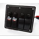 Hot! 4 Way Rocker Switch panel High Quality
