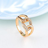 Z&X® Fashiont  Individuality  Alloy / Rhinestone Ring Statement Rings Daily / Casual 1pc