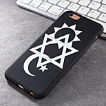 New Hexagram Pattern Green Vinyl Material Does Not Fade Tide Phone Case for iPhone 6 / 6S