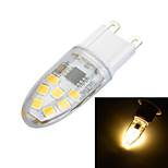 Luces de Doble Pin Regulable Marsing Luces Empotradas G9 3 W 14 SMD 2835 100-200 LM Blanco Cálido / Blanco Fresco AC 100-240 V 1 pieza