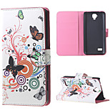 Adorable Owls and Hearts  Magnetic PU Leather wallet Flip Stand Cover Case For Huawei Ascend Y5/y560