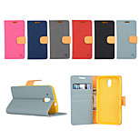 Yi Cai Card Holder Leather Belt Around Open for HTC D526(Assorted Colors)