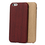 Specially Designed Wood Grain TPU Back Cover for iPhone 6/6S