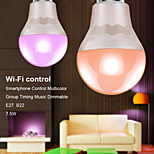 Smart Phone App Control Led Bluetooth RGB And Warmwhite Bulb