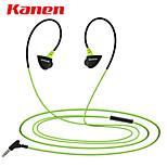 Kanen S30 In-Ear Mini Lightweight Earphones Headphones Sports/Running Earbuds Headphones Headsets with Microphone
