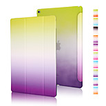 Good quality PU leather rainbow gradient holster for iPad Mini 4