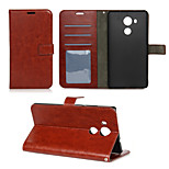 Crazy Horse Grain and Window Luxury PU Leather Wallet Case with Stand for Huawei Mate 8(Assorted Colors)
