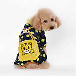Dog Costumes / T-Shirt / Jumpsuits - S / M / L / XL / XXL - Spring/Fall - Black / Pink / Yellow / Orange -Cosplay / Birthday / Easter /