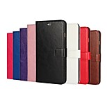 Crazy Horse Grain and Window Luxury PU Leather Case for iPhone 6/6s(Assorted Colors)
