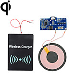 Cwxuan™ Qi Standard DIY Wireless Transmitting PCB + DC Receiving Module Charging Set