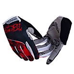 Silicone Gel Anti-slip Outdoors Wearproof Shockproof Men Women Bicycle Full-finger Gloves for Cycling Motorcycle