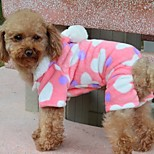 Dog Coats / Hoodies - S / M / L / XL / XXL - Winter - Pink - Valentine / Keep Warm / Fashion - Mixed Material