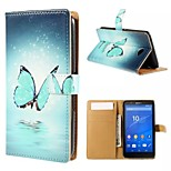 Good Quality PU Leather Flip Case Mobile Phone for Sony Xperia E4/E4G