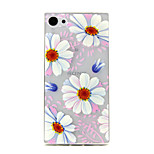Flower Pattern TPU Relief Back Cover Case for Sony Z5mini