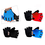 Sport Outdoors Bike Bicycle Half Finger Gloves Mountain Road Riding Bicycle Gloves Breathable/Anti-skidding / Shockpro